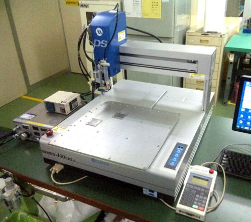接着剤塗布ロボットSM400DSS-3A(MUSASHI)